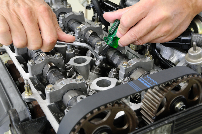 Timing belt service applications